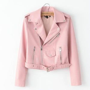Biker PU Leather Jacket - iCaseLeluxe