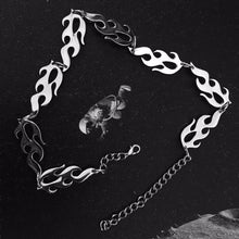 Load image into Gallery viewer, Flame Unisex Choker Necklace - iCaseLeluxe