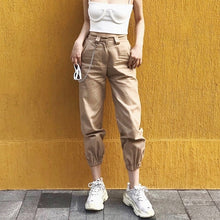 Load image into Gallery viewer, Cargo Utility Capri Pants - iCaseLeluxe