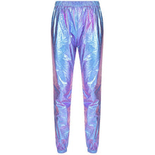 Load image into Gallery viewer, X2 Holo Reflective High Waist Trousers - iCaseLeluxe