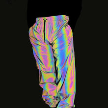 Load image into Gallery viewer, Holographic X1 Reflective Trousers - Unisex - iCaseLeluxe