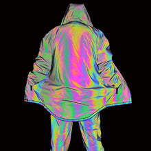 Load image into Gallery viewer, Holographic X1 Reflective Jacket - Unisex - iCaseLeluxe