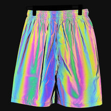 Load image into Gallery viewer, Holographic X1 Reflective Shorts - Unisex - iCaseLeluxe
