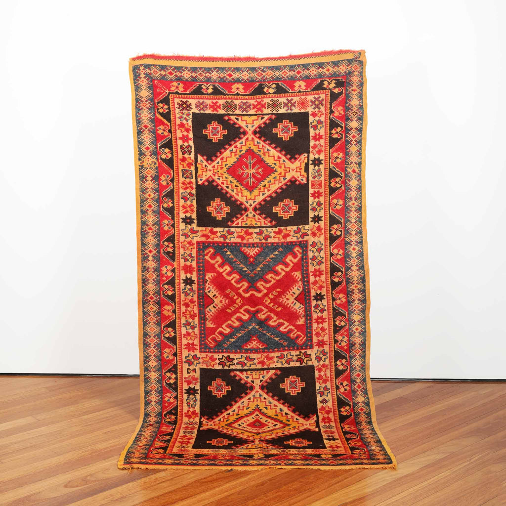 ' flight of Atair' Vintage carpet, 2.1 m x 1.06 m, Takama Collection