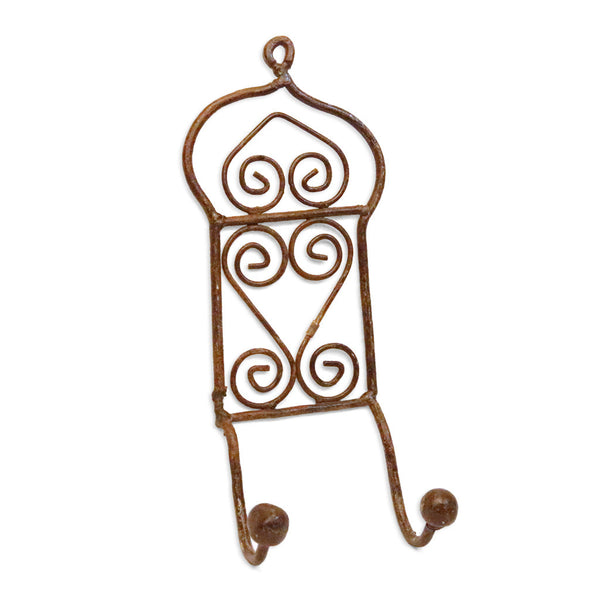 Wrought Iron Double Hook