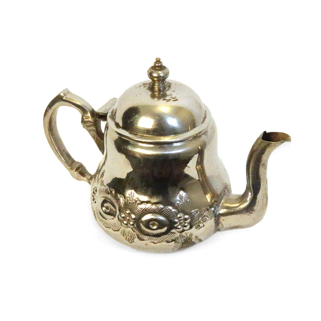 Traditional Silver Tea Pot
