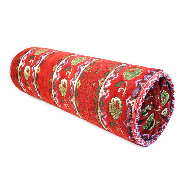 'Red' Moroccan Bolster