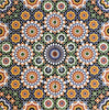 'Arabesque zest' Moroccan Printed Ceramic Wall Tile