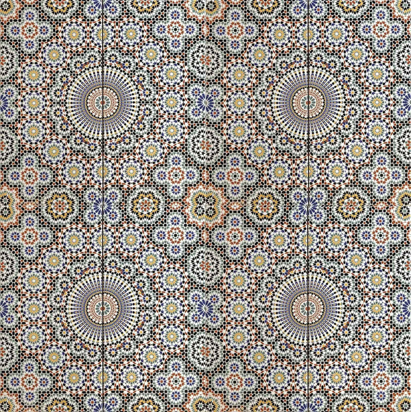 'Arabesque Jardin' Moroccan Printed Ceramic Wall Tile