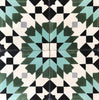 'Geometric Wonder' Moroccan Encaustic Tile