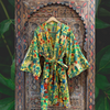 """Frida in the Jungle"" Kimono in Mimosa"