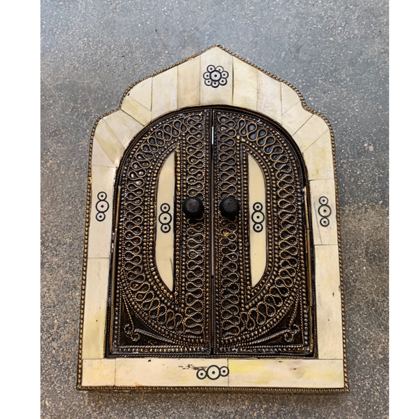 Mini Blanco Mosque  Door Mirror