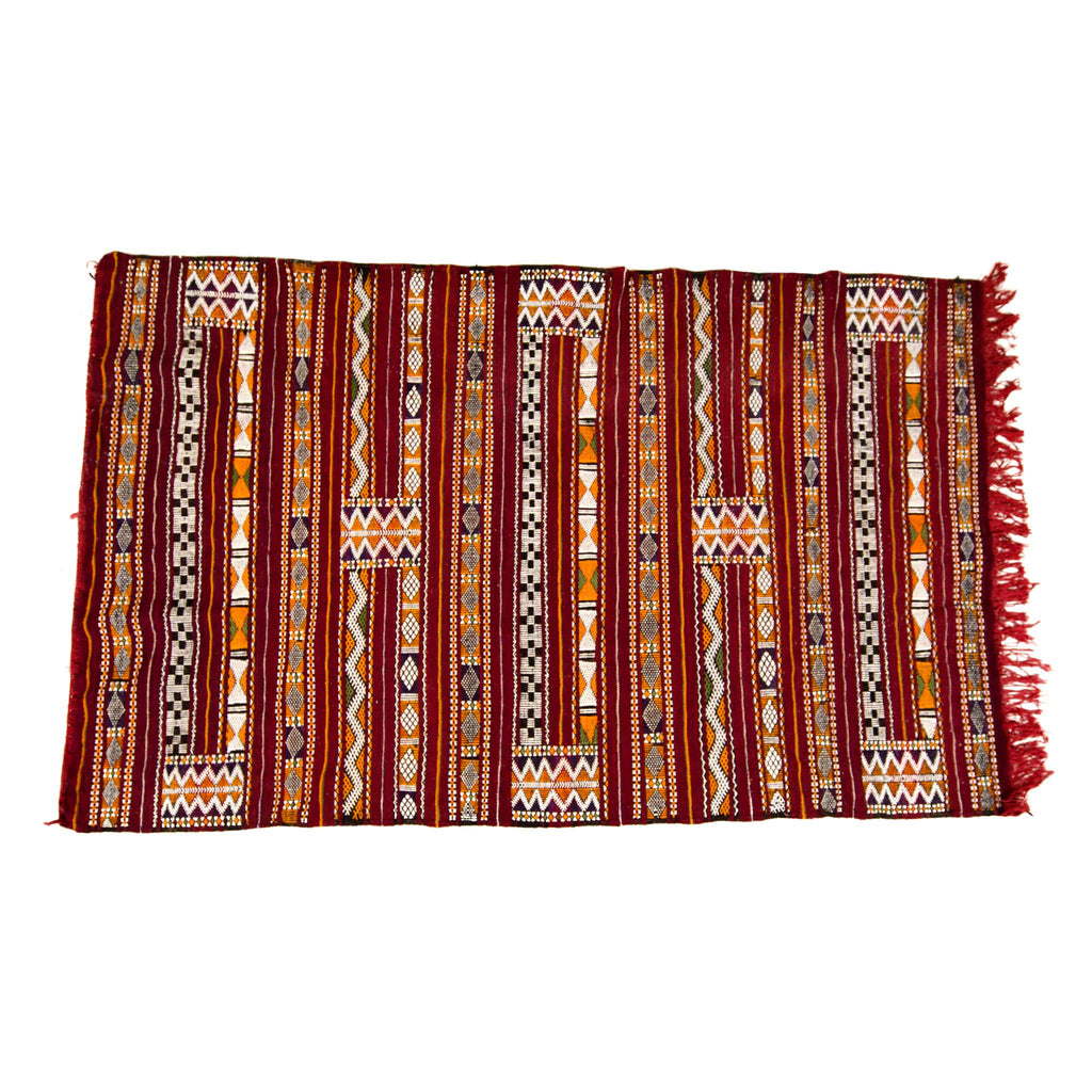 'Zada' Zemmour Kilim - Kahina Collection (2.18m x 1.32 metres)