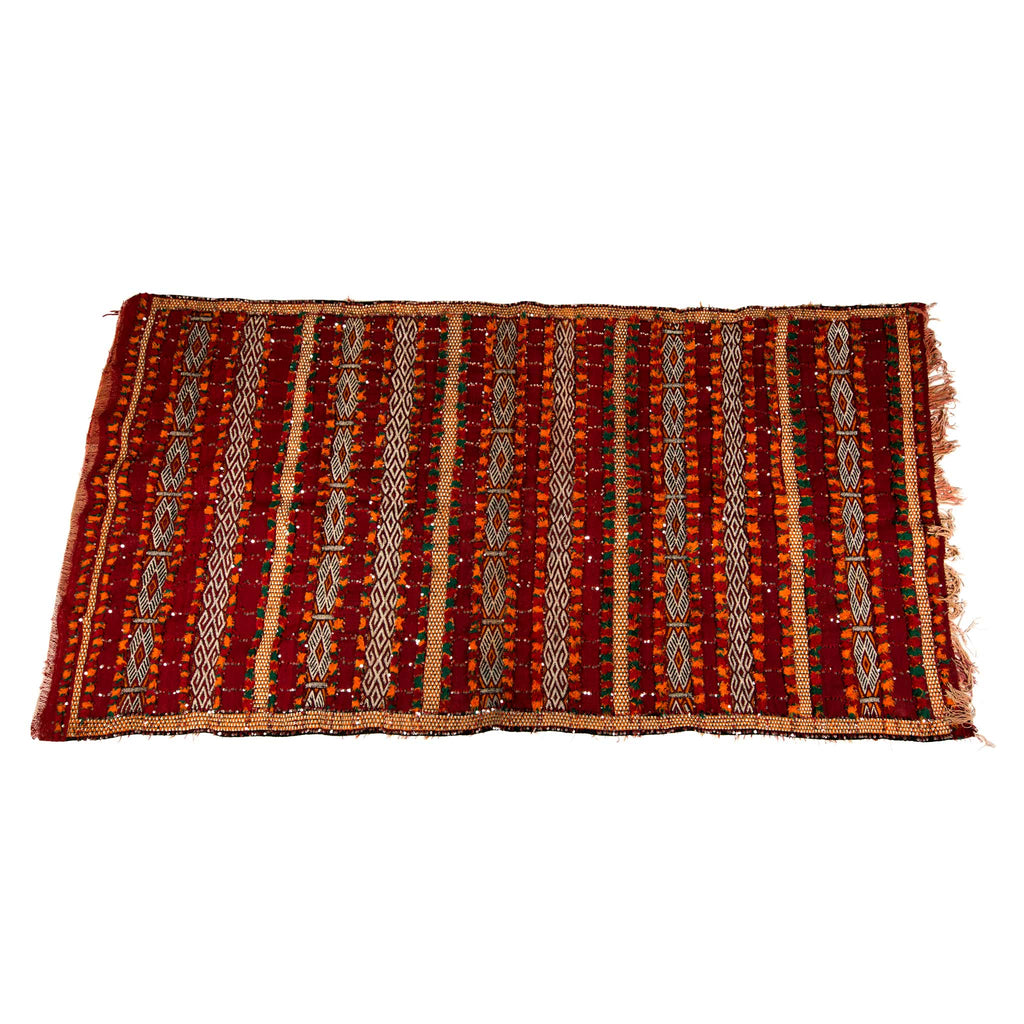 'Zahir Shines' Sequin Zemmour Kilim - Kahina Collection (2.18m x 1.32 metres)