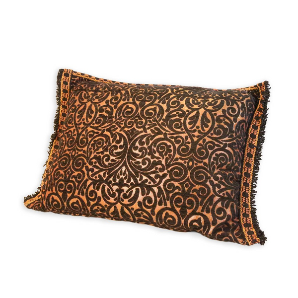 'Black & Copper' Moroccan Cushion