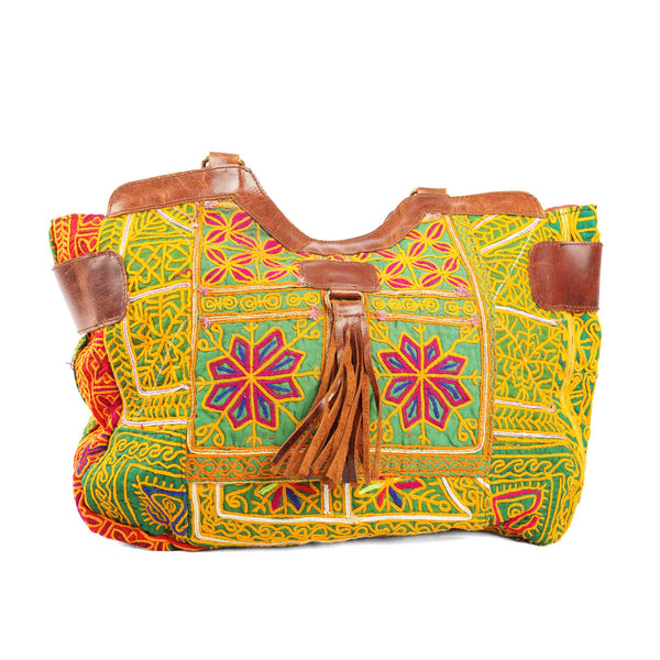 'Mahila' Shoulder Bag Citrus