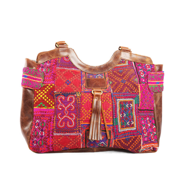 ' Mahila' Shoulder bag Musk