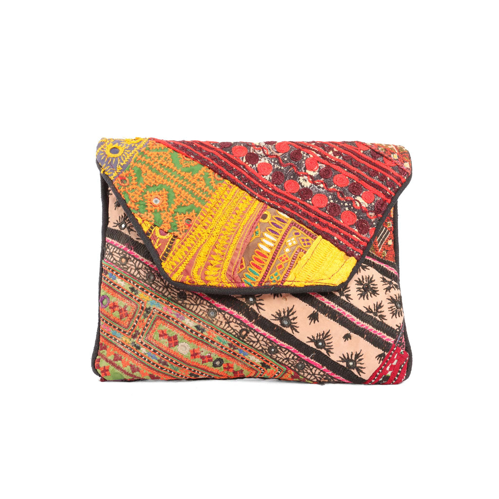 Zuddha Embroidered Clutch