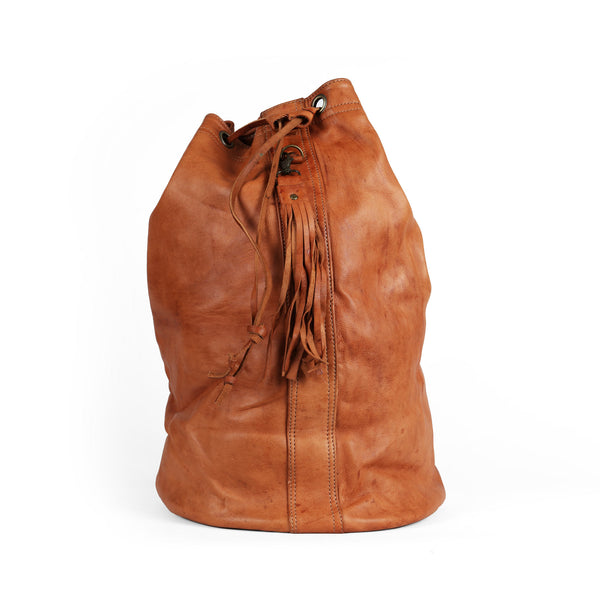 'Wanderer Duffle' Leather duffle bag