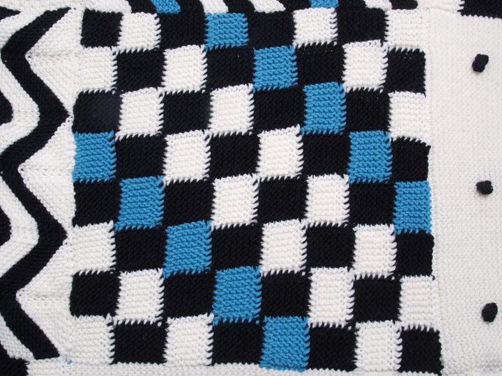 Knotten Fair & Square KAL2018 - patroon vierkant 2