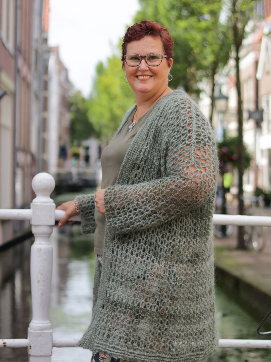 Haakpakket Peaceful Plus-size vest
