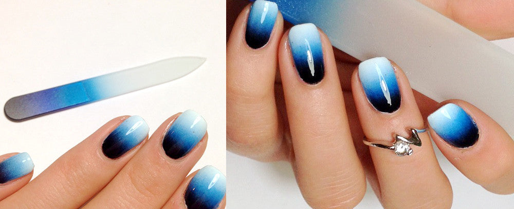 Anna from @polished_dream Reviews BFB's Black/Cobalt/Aqua Mani-Pedi Set