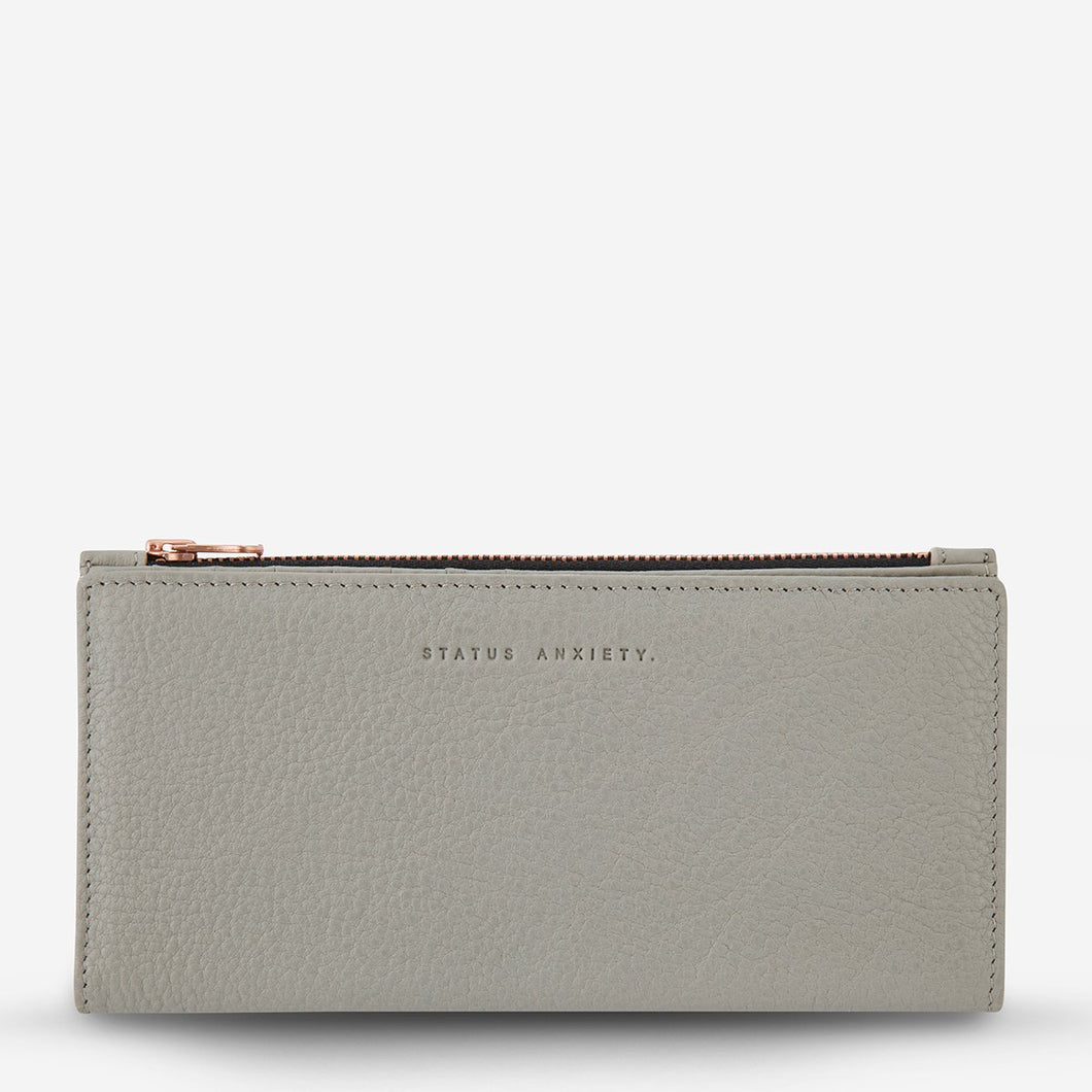 In The Beginning Wallet - Light Grey - Roma Gift & Gourmet