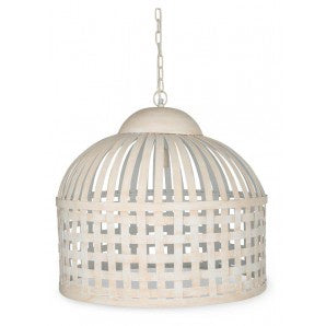 Iron Pendant Light - White