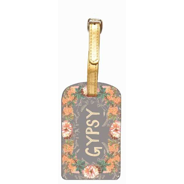 LUGGAGE TAG-GYPSY PEACH