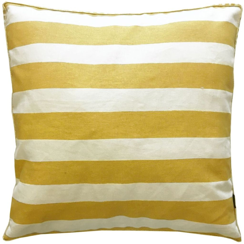 Painted Stripe Cushion - Sunset Cushion