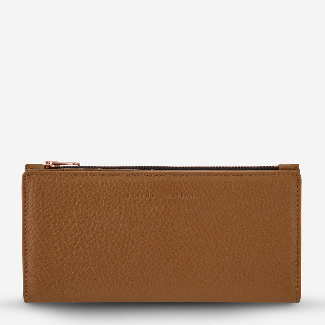 In The Beginning Wallet - Tan - Roma Gift & Gourmet