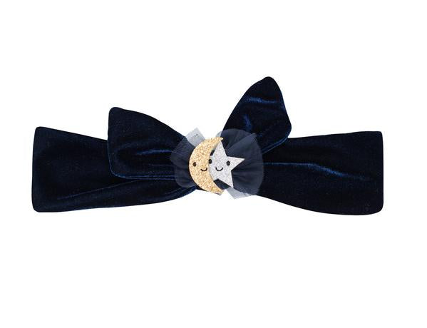 Wish Upon A Star Velvet Tie Headband