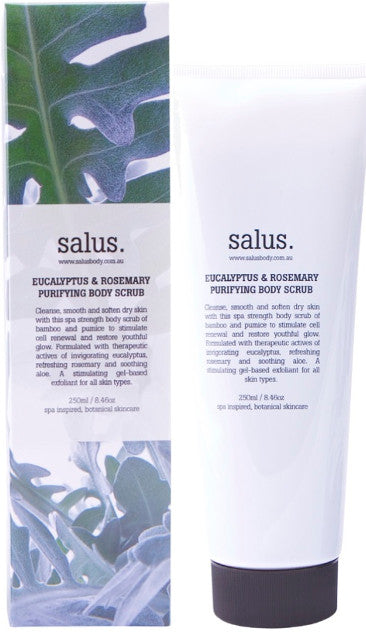 Eucalyptus & Rosemary Purifying Body Scrub 250ml
