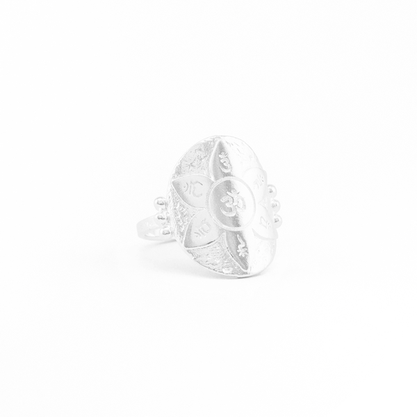Silver Large Eternal Harmony Ring Large