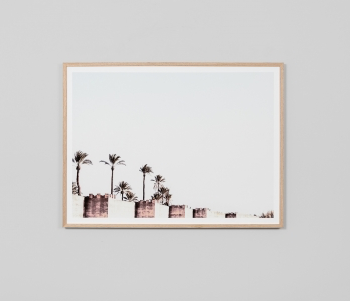 City Wall Raw Print – Roma Gift & Gourmet