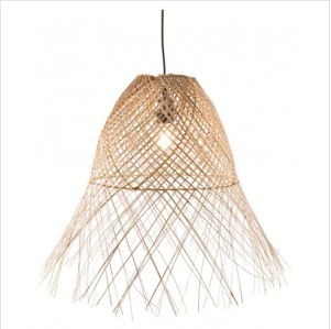 Coco Wicker Weaved Pendant Light