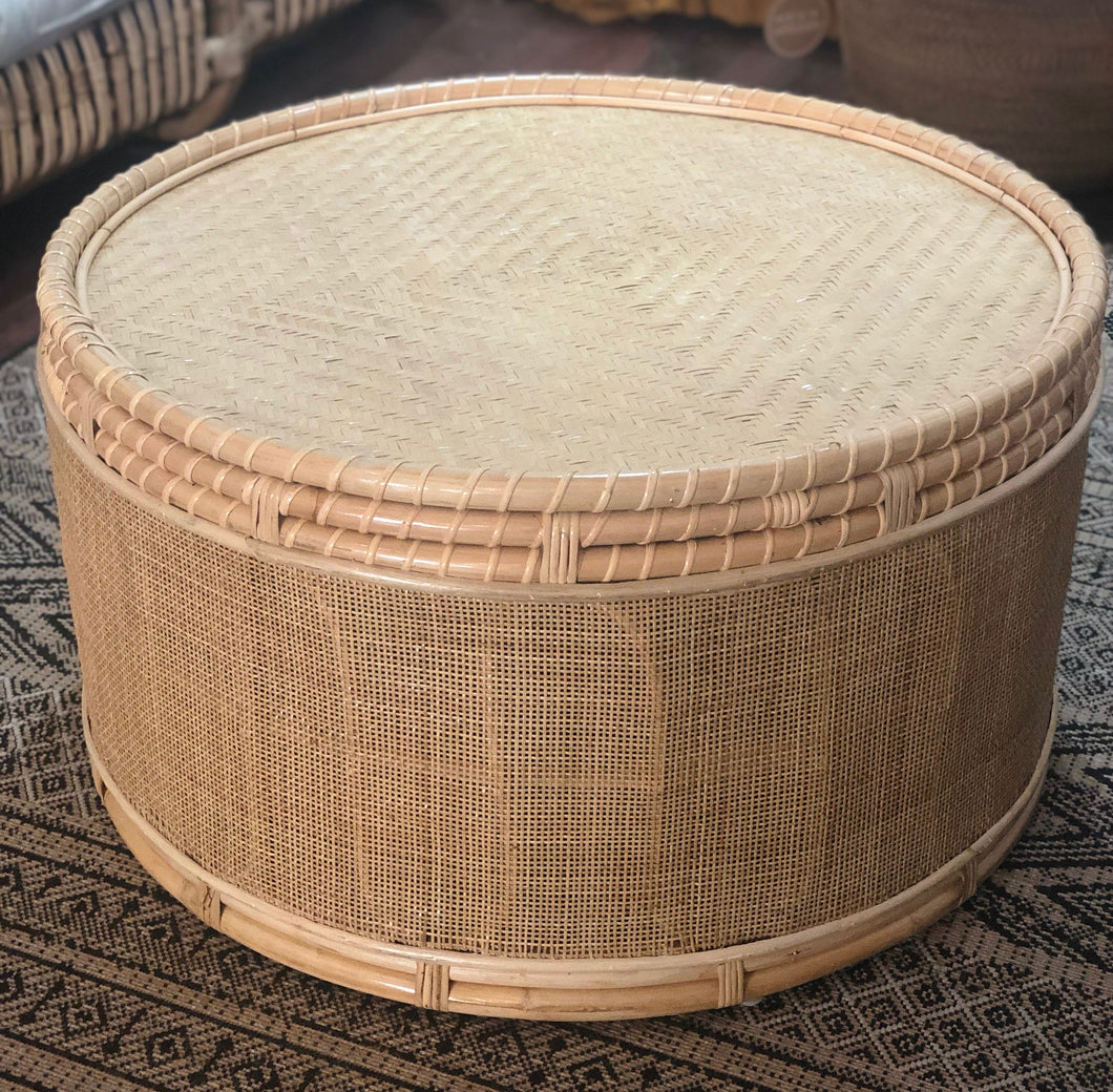 Eden Vintage Coffee Table With Webbing - Roma Gift & Gourmet