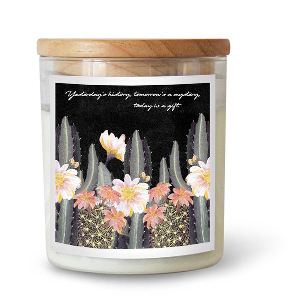 "Ourlieu Collab Night Garden "" Yesterday, Tomorrow, Today"" Soy Candle"