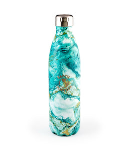 Green Marble Earth Bottle 500ml - Roma Gift & Gourmet
