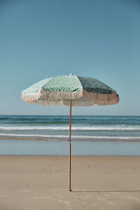 Flannel Flower Ash Wood Pole Beach Umbrella - Roma Gift & Gourmet