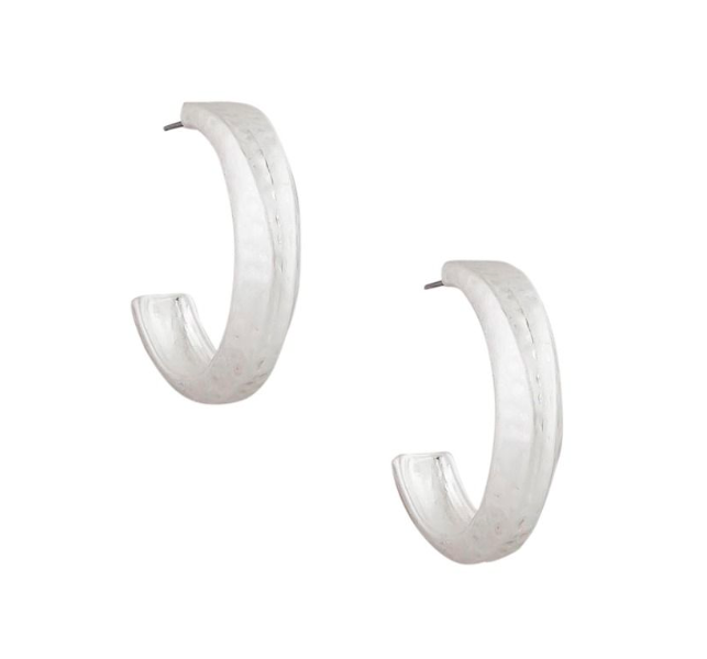 Silver Pinned in Hoops - Roma Gift & Gourmet
