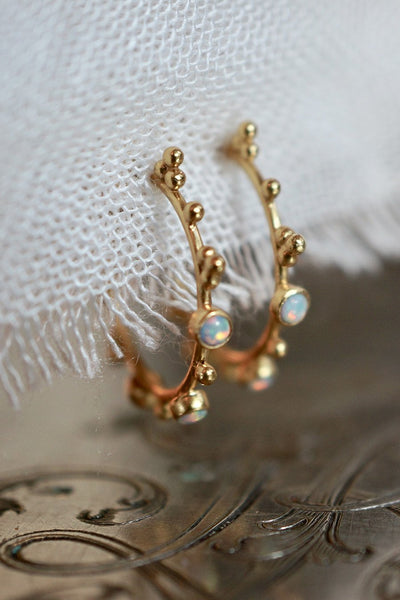 Heartbeat Earring - Brass Gold Plated