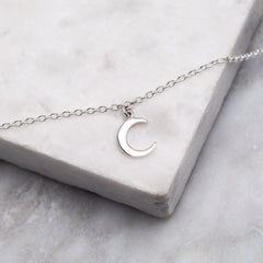 Dainty Moon Anklet