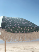 Load image into Gallery viewer, Flannel Flower Ash Wood Pole Beach Umbrella - Roma Gift & Gourmet