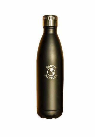 Matte Black 750ml Earth Bottle