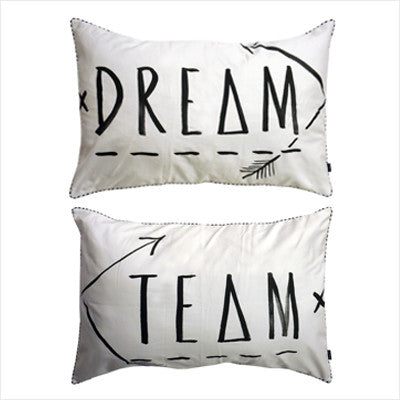 Dream Team Black Pillow Slips