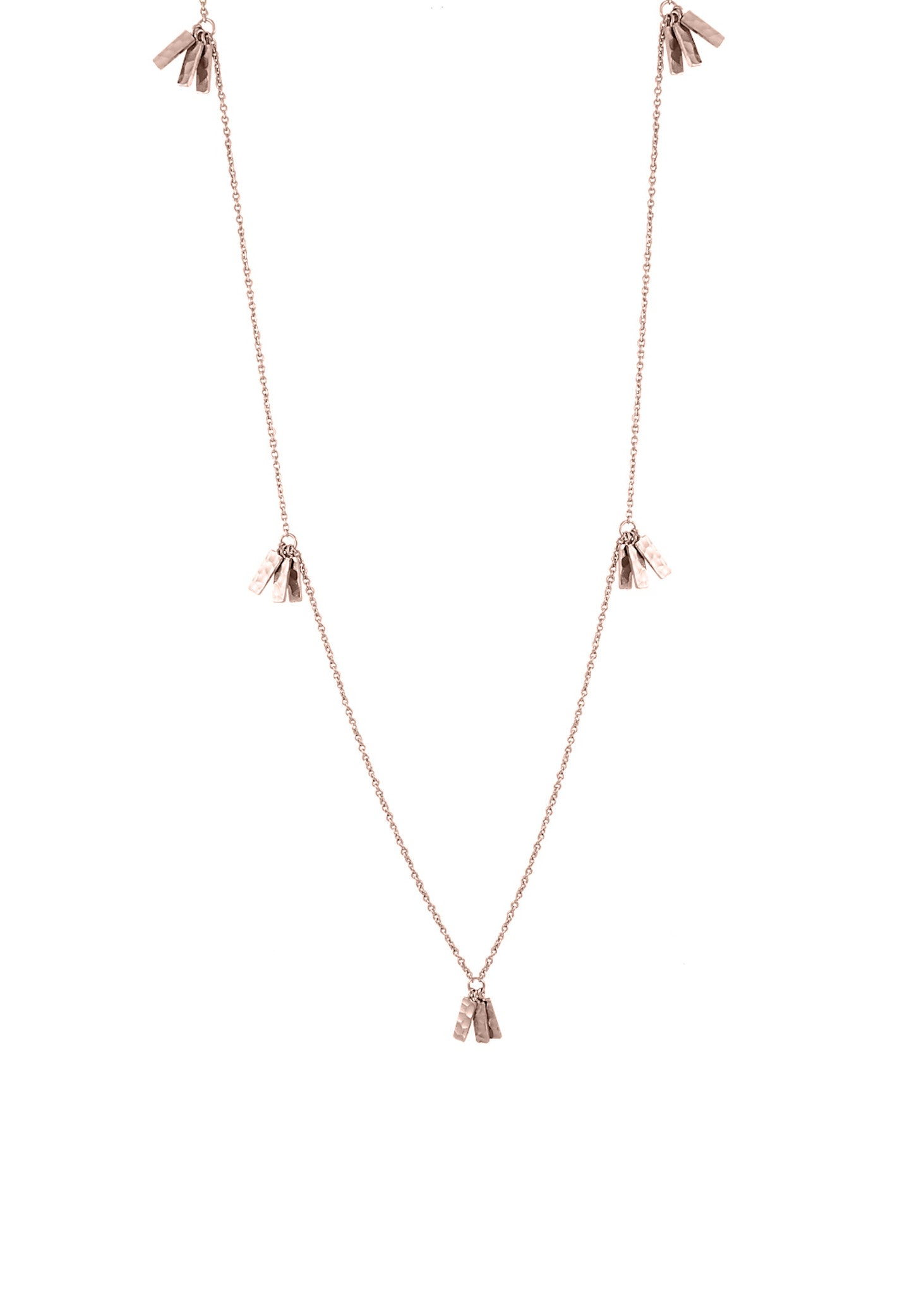 Kiara Statement Long Tassel Necklace
