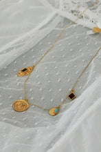 Load image into Gallery viewer, Nina Necklace- Brass Gold Plated