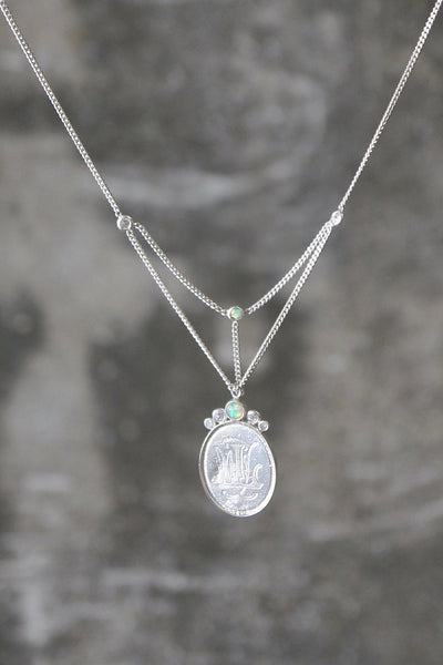 Sweet Emma Necklace - Sterling Silver