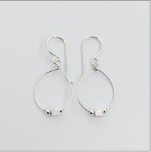Load image into Gallery viewer, White Opalite Drop Earring - Roma Gift & Gourmet